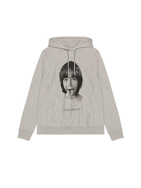 Pullover Hoodie in Gray