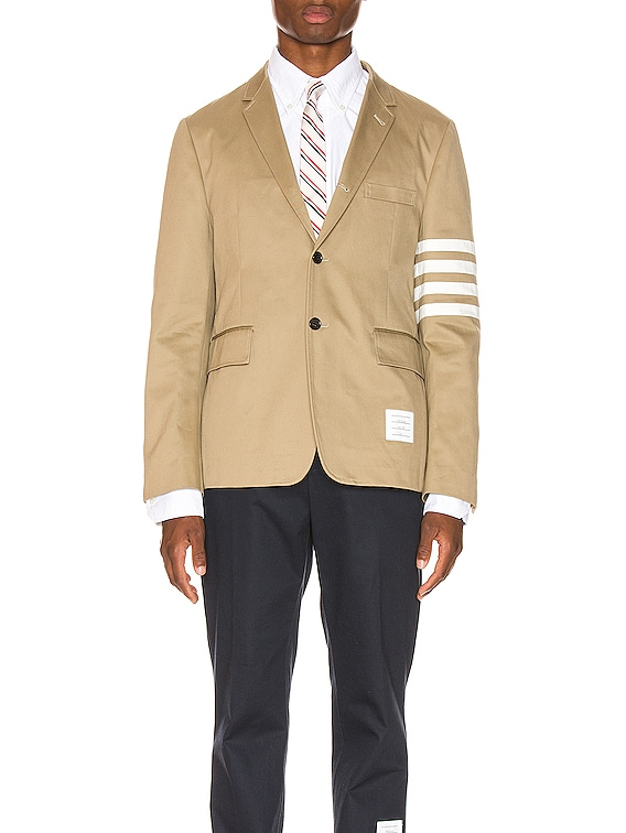 Unconstructed Classic Blazer in Camel
