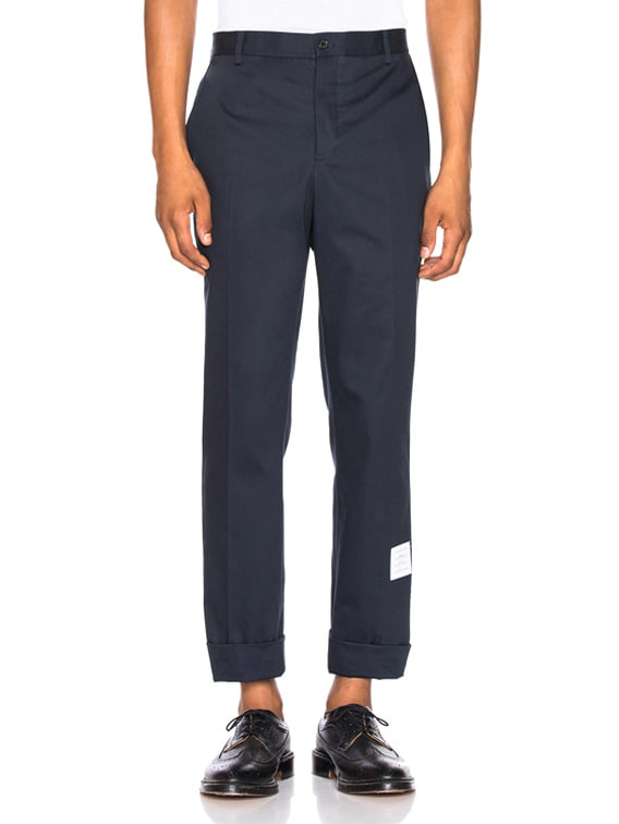 Unconstructed Chino in Navy