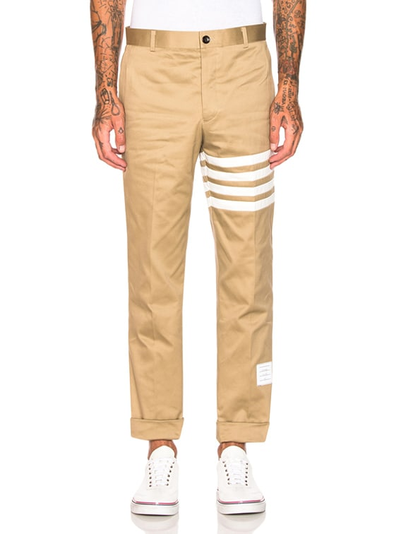 Cotton Twill Unconstructed Chino in Camel