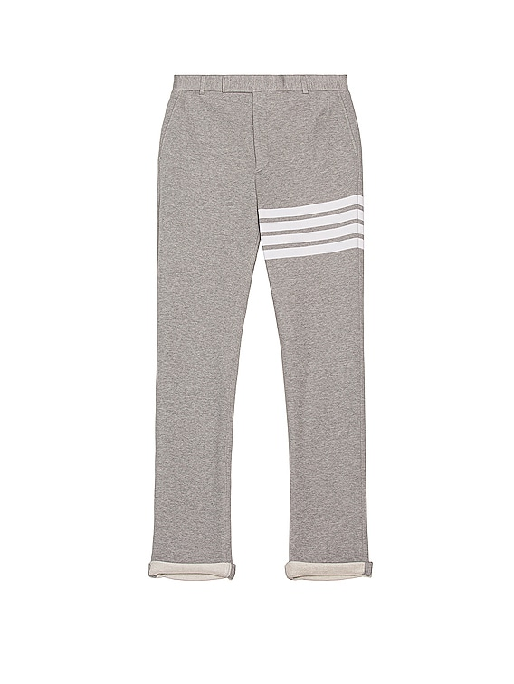 Unconstructed Chino Pant in Light Grey