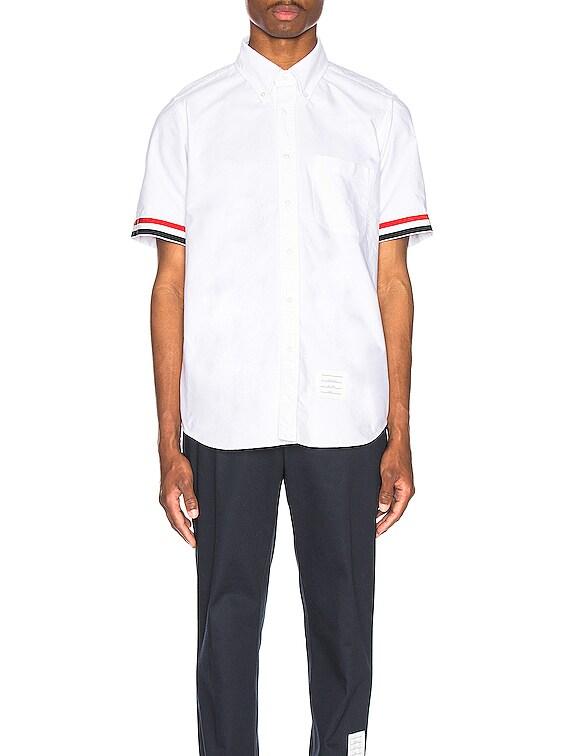 Collar Button Down Shirt in White