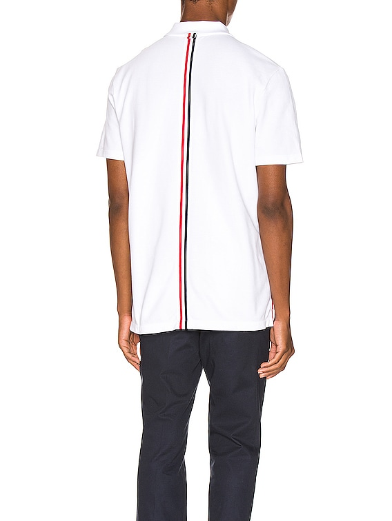 Relaxed Polo in White