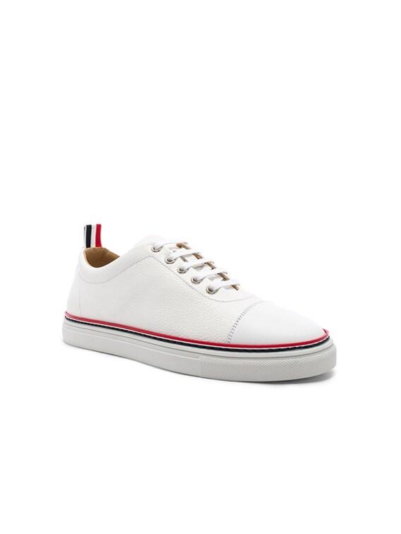 Cap Toe Sneaker in White