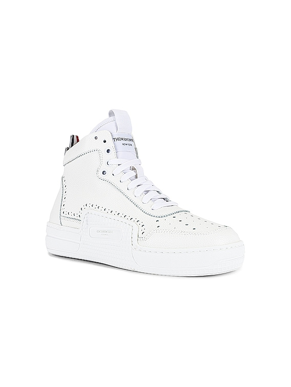 Basketball High Top Sneaker in White