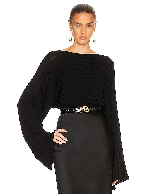 Maristella Top in Black