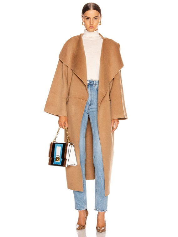 Annecy Coat in Camel