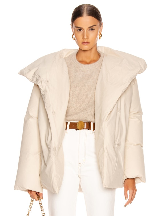 Annecy Down Jacket in Ivory