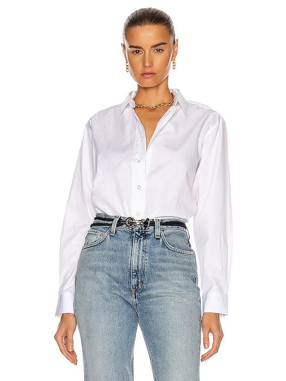 Capri Shirt in White