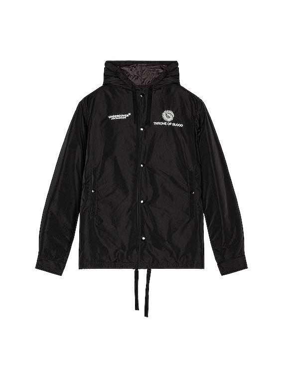 Hooded Blouson in Black