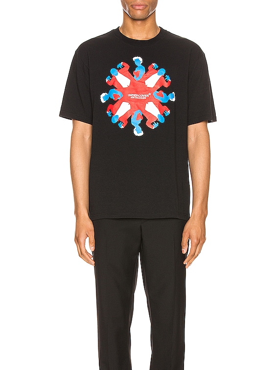 Graphic Tee in Black