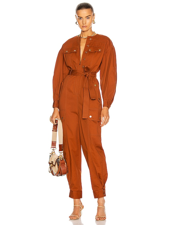 Stearling Jumpsuit in Sienna