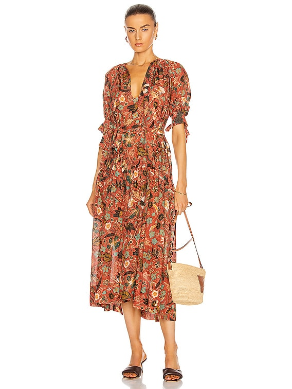 Selena Coverup in Mesa Floral