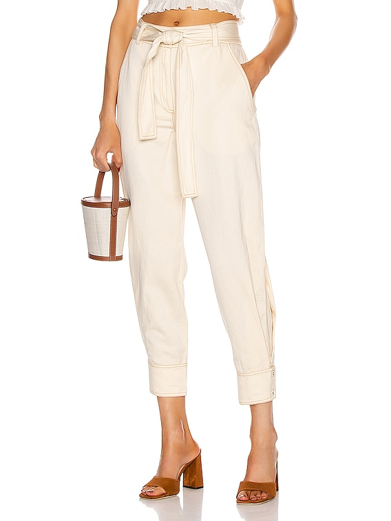 Levi Pant in Ivory
