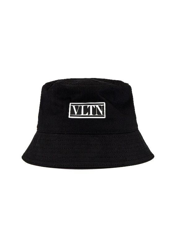 Valentino Garavani Bucket Hat in Black & White