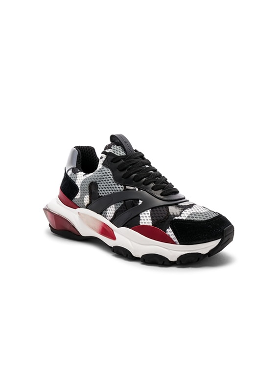 Valentino Camouflage Bounce Trainers in