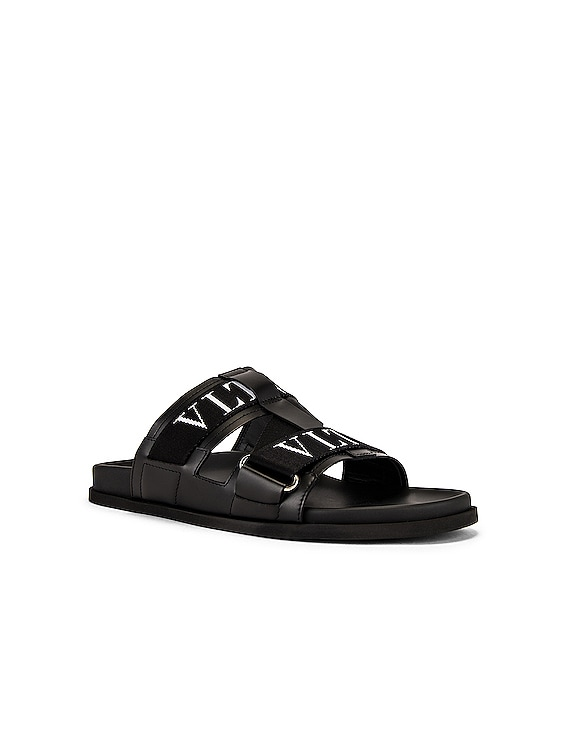 VLTN Sandal in Black & White
