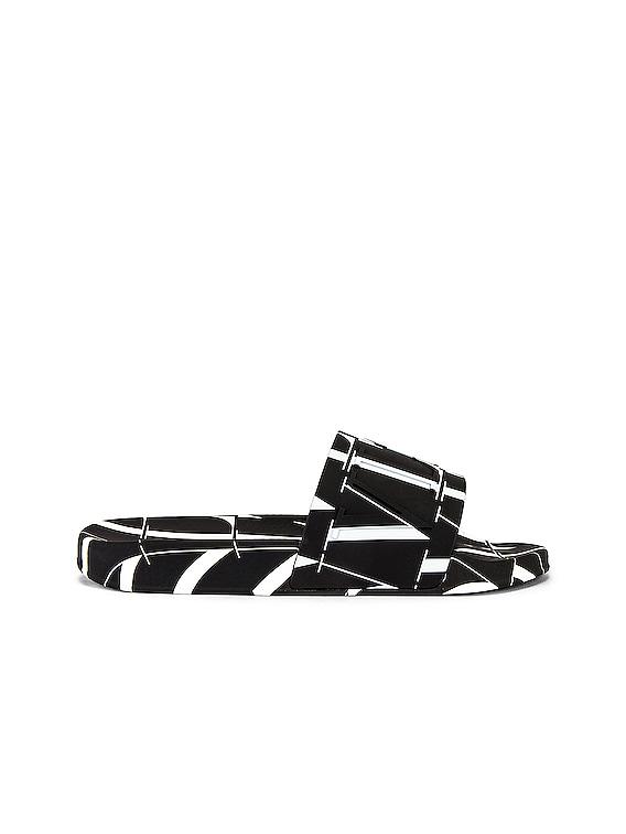 Slide in Black & White