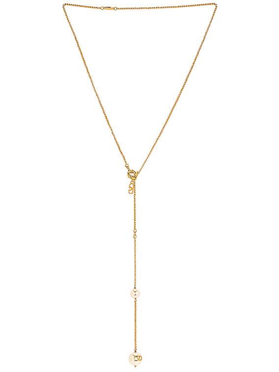 Lariat Necklace in Oro