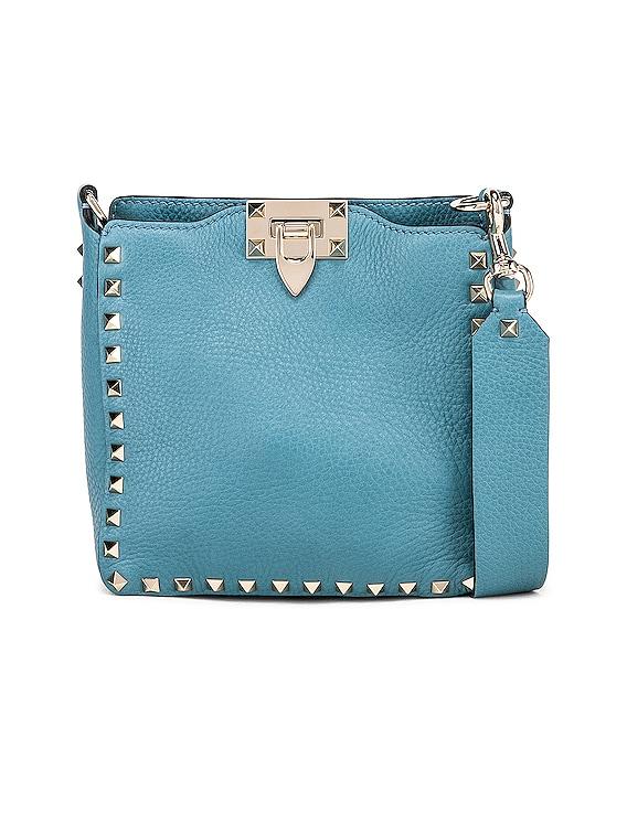 Valentino Rockstud Mini Hobo Bag in