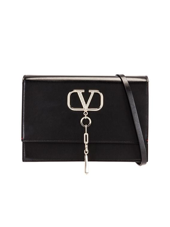 VCase Shoulder Bag in Black