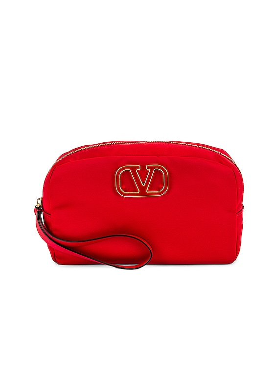 Large Cosmetic Case in Rouge Pur