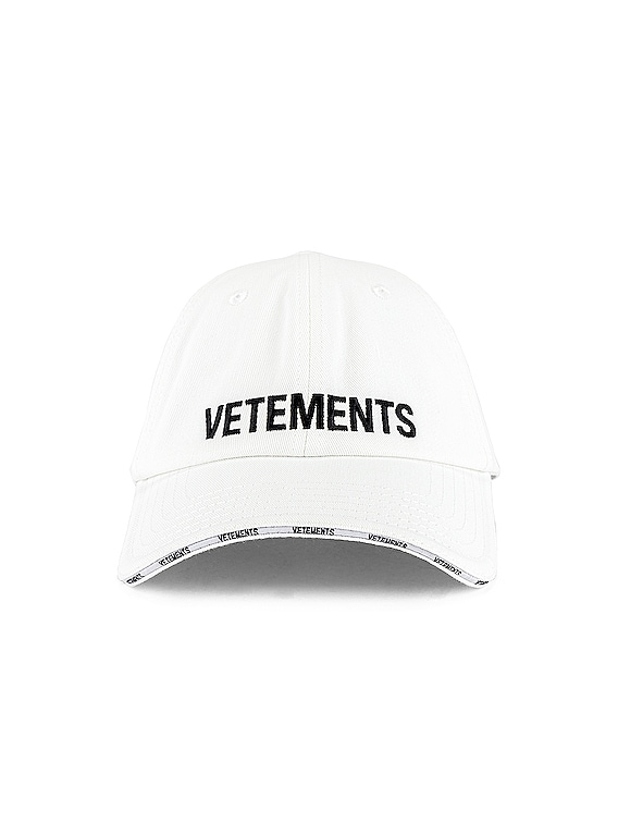 Logo Cap in White