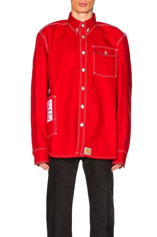 online store pretty cool factory price x Carhartt Workwear Shirt