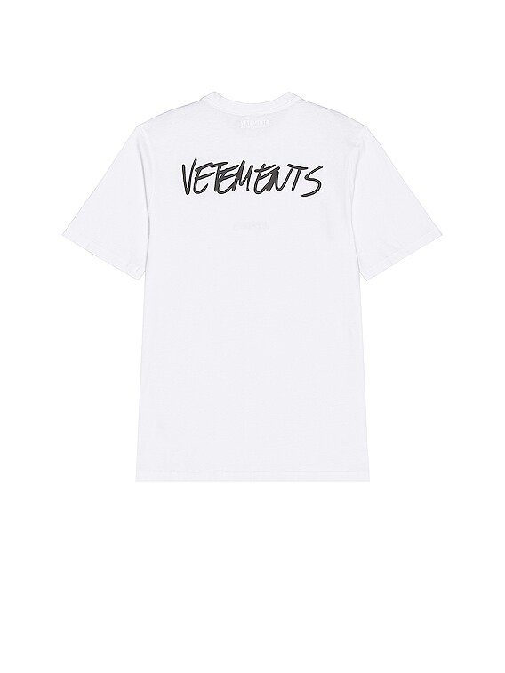 Written Logo T-Shirt in White