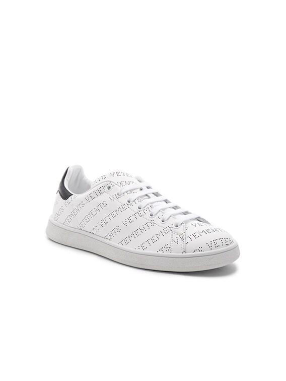 VETEMENTS Perforated Logo Sneakers in