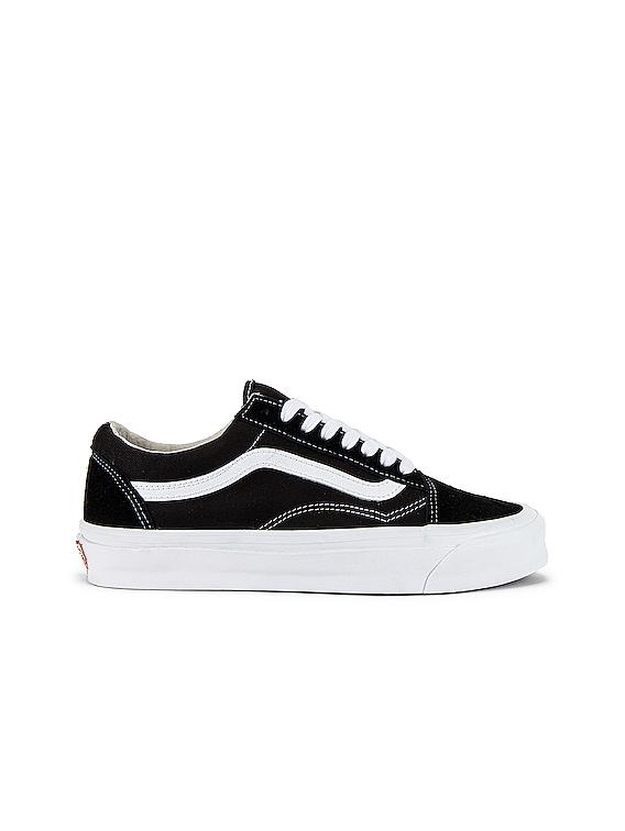 OG Old Skool LX in Black & True White