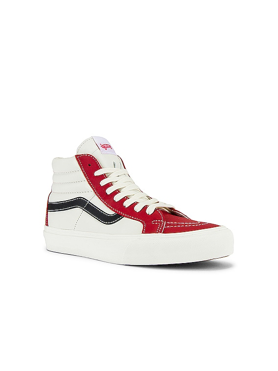 Sk8-Hi Reissue VLT LX in Chili Pepper & Marshmallow & Black