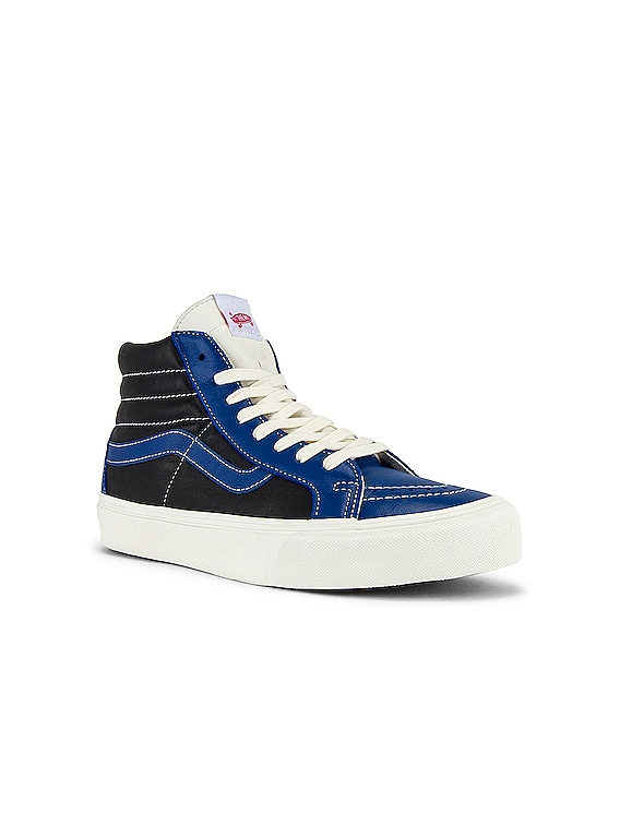 Sk8-Hi Reissue VLT LX in True Blue & Black