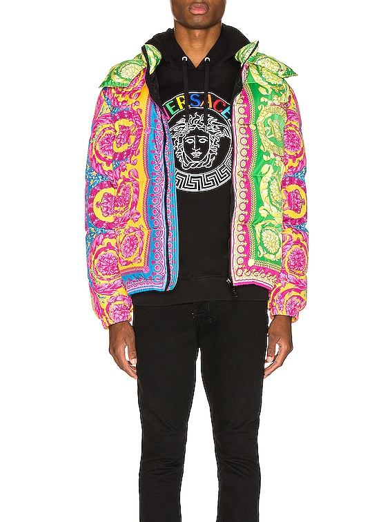 Puffer Jacket in Multi