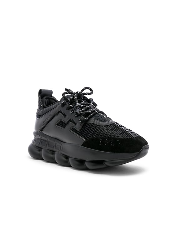 Chain Reaction Sneakers in Black