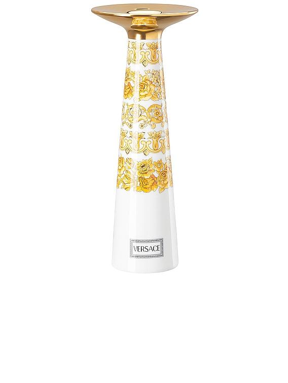 Medusa Rhapsody Vase/Candleholder in White