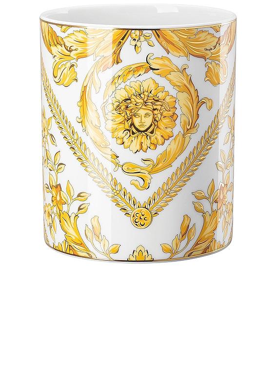 Medusa Rhapsody Vase in White