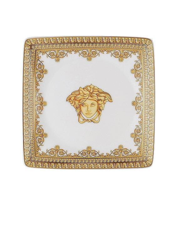 I Love Baroque Bianco Canape Dish in White