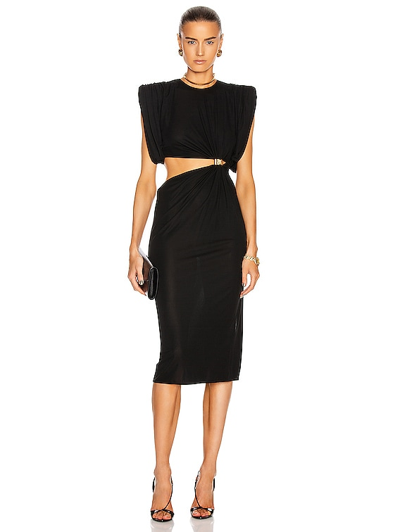 Cocktail Cutout Gown in Black