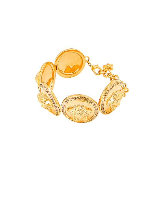 Coin Bracelet in Gold