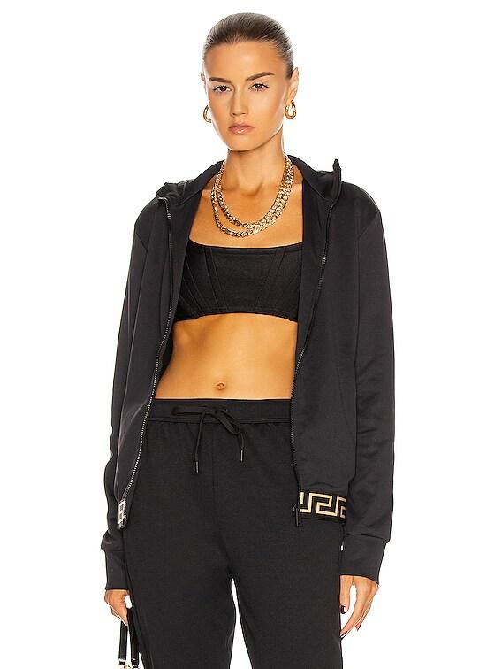 Long Sleeve Jacket in Black