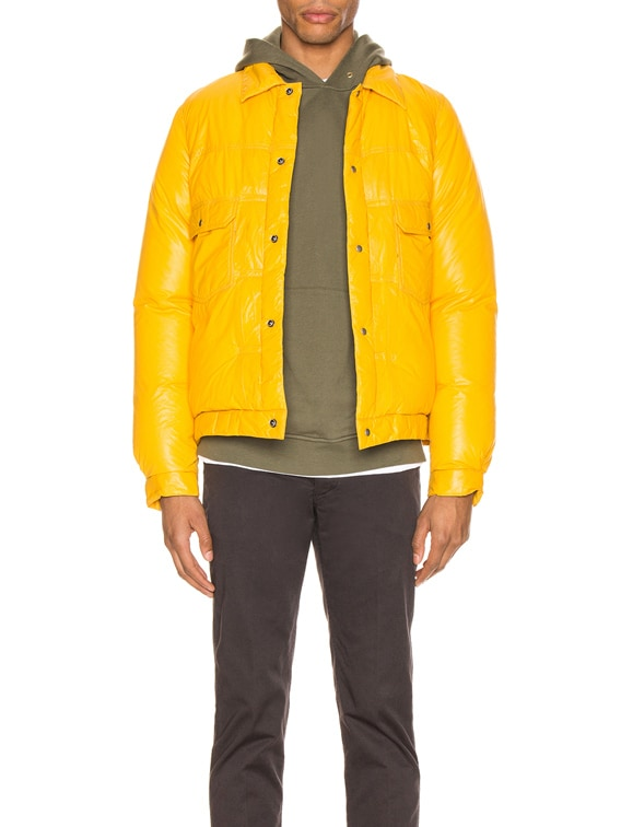 101 Down Jacket in Yellow