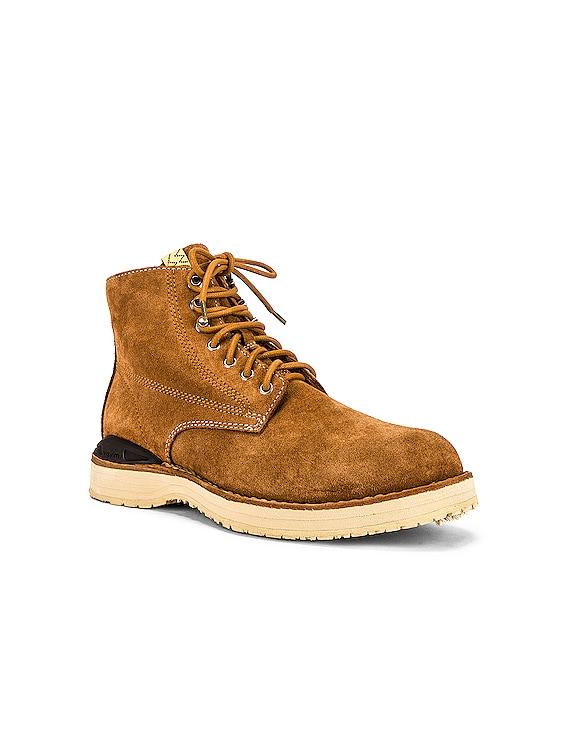 Virgil Folk Boots in Brown