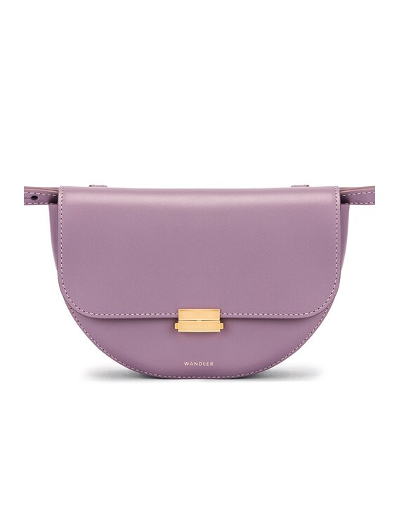 Big Anna Leather Belt Bag in Cosmic