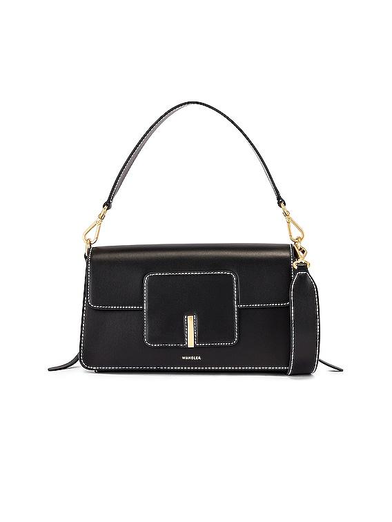 Georgia Leather Bag in Black