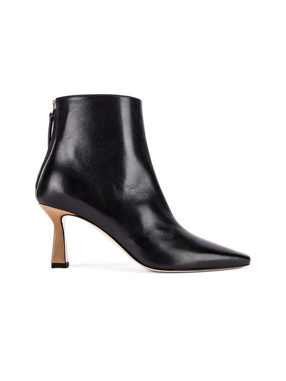 Lina Boots in Black & Khaki