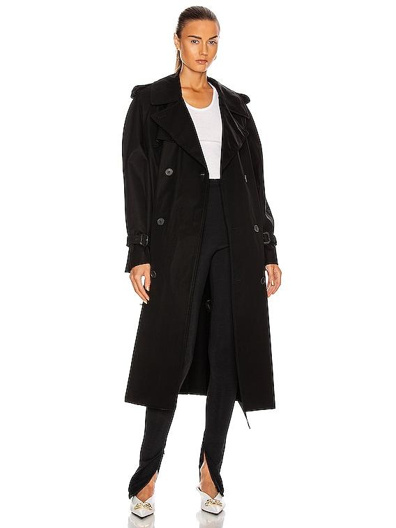 Trench Coat in Black