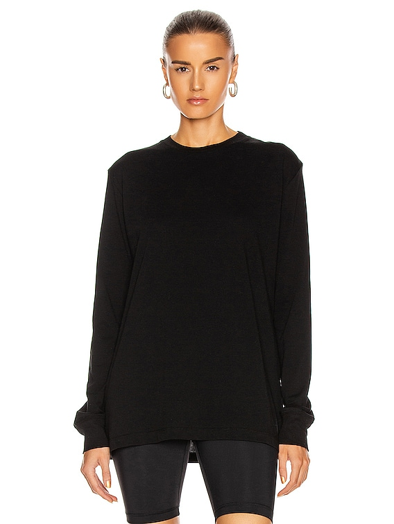 Long Sleeve Tee in Black