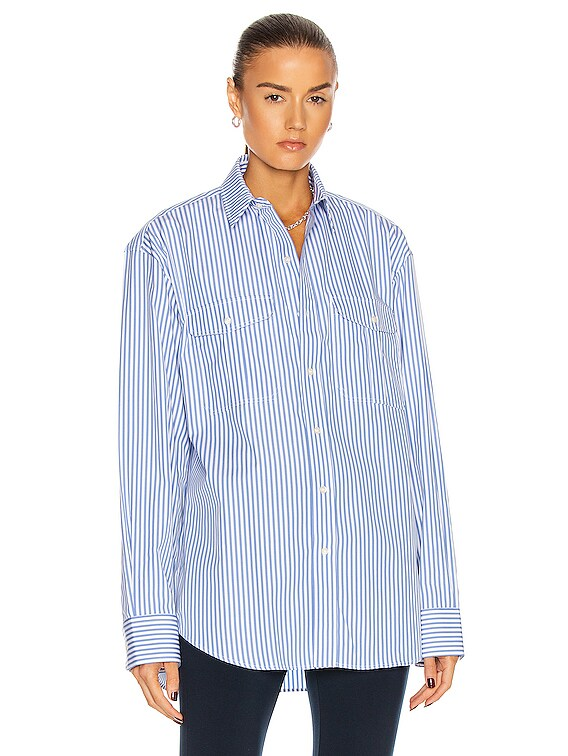 Oversize Shirt in Blue
