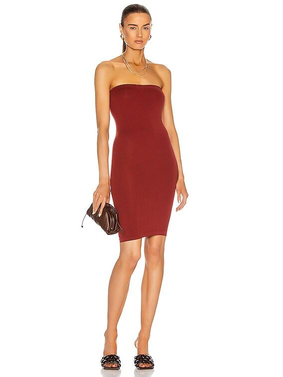 Fatal Mini Dress in Currant Berry